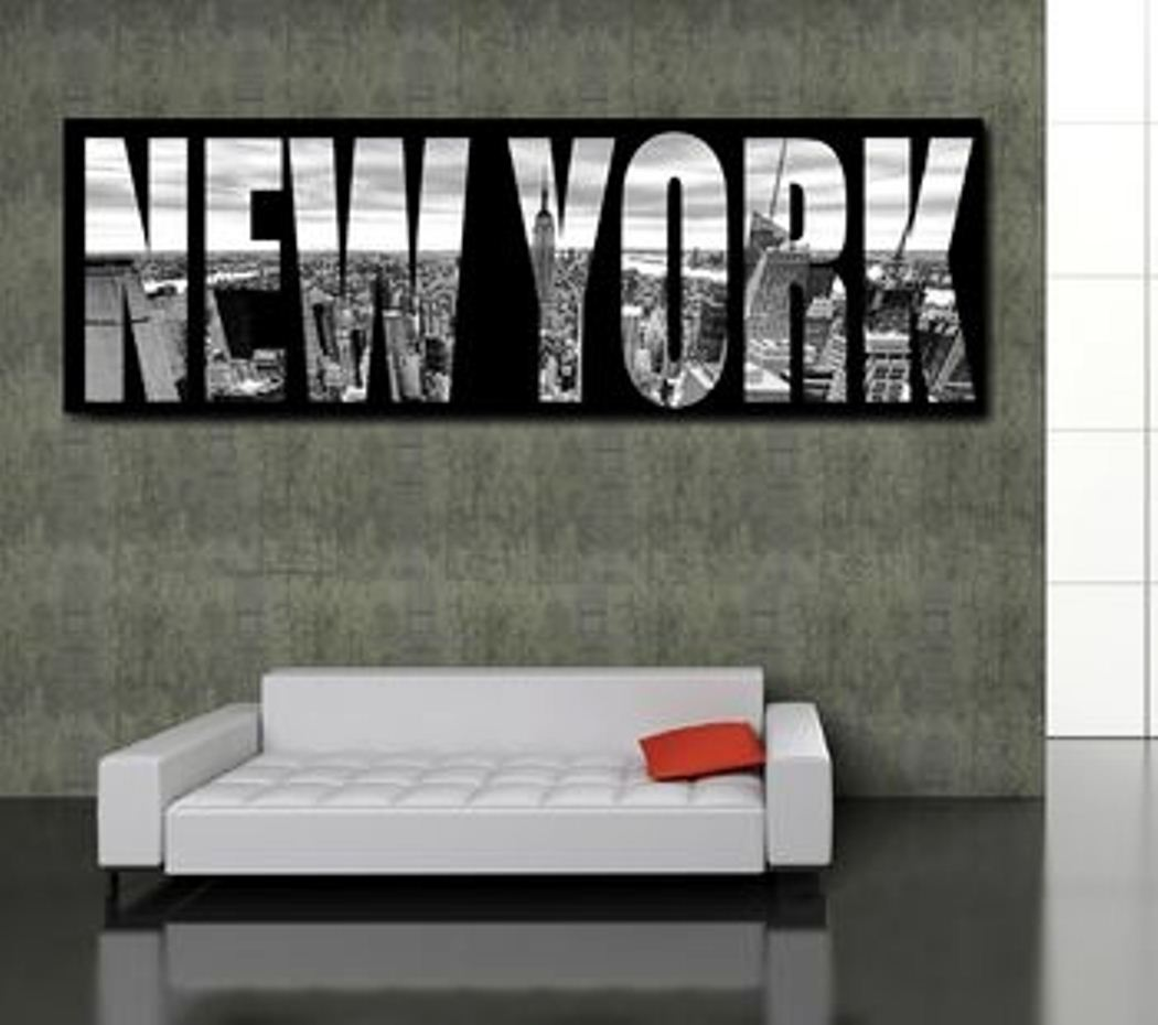 Canvas Panorama Wall Art New York Urban Furniture Superstore