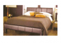 Vega Leather Bed