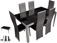 Deanne Contemporary Dining Set